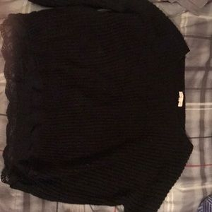 Black sweater from Pacsun